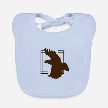 Sustainable Eagle - Eagle / Bird - Bird / Vulture - Vulture - Baby Bib