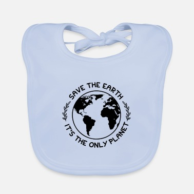 Protection Climate protection nature protection - Baby Bib