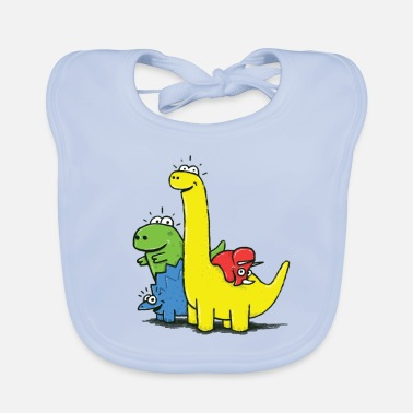 Collection Dino Gang, Colored - Baby Bib