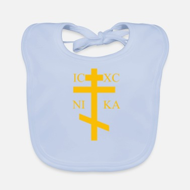 Orthodox Cross Orthodox - Baby Bib