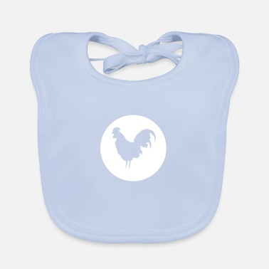 Rooster Rooster - Baby Bib