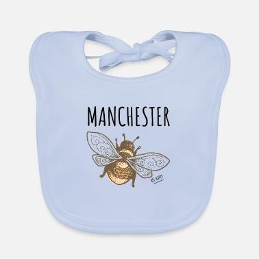 Manchester Bee - Baby Bib