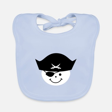 Pirate Party Pirate Kids Birthday Pirate Party - Baby Bib