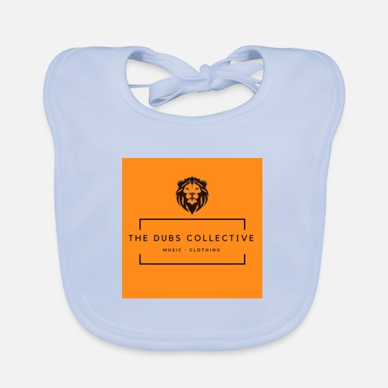 Cash Money Baby Clothes - The Dubs Collective - Baby Bib sky blue
