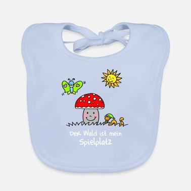 The forest is my playground - Baby Bib