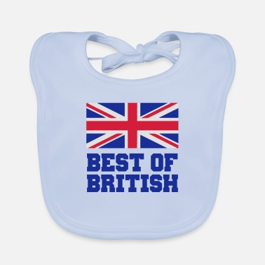 Flag British - Baby Bib