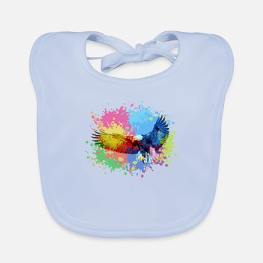 Artwork eagle artwork - Baby Bib