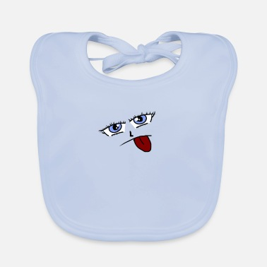 Tongue tongue - Baby Bib