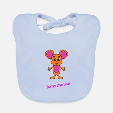 Baby Mouse Baby mouse, mouse, cute, cartoon, cool, birthday - Baby Bib