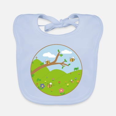 Meadow Meadow - Baby Bib