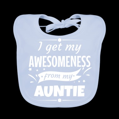 Awesomeness tante tante metergift - Bio-slabbetje voor baby's