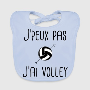 volleyball - Baby Organic Bib