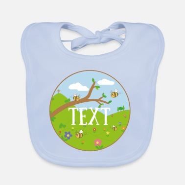 Primaryschool Meadow - Baby Bib