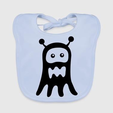 Ghost Monster - Baby Organic Bib