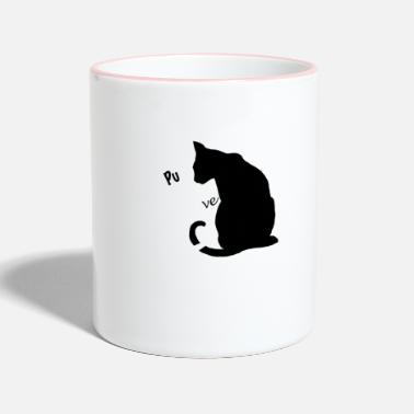 Purr purr love - Two-Tone Mug