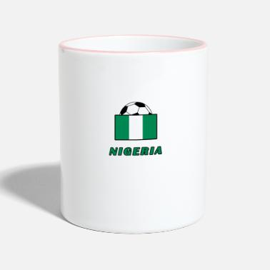 National Team NIGERIA national team design - Two-Tone Mug