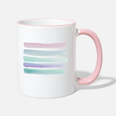 Watercolor Watercolor - Two-Tone Mug