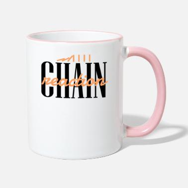 Reaction chain reaction - Two-Tone Mug