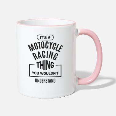 Motocycle Motocycle Racing Thing - Two-Tone Mug