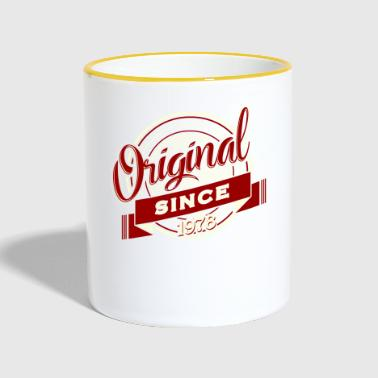 Birthday Shirt · Birthday · Original 1978 - Contrasting Mug
