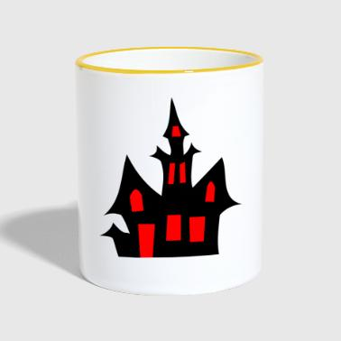 Haunted house - Contrasting Mug