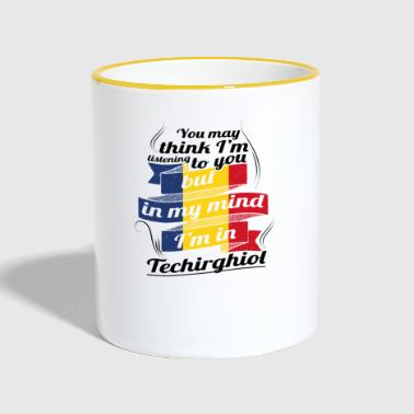 HOLIDAYS Romania ROOTS TRAVEL IM IN Romania Techi - Contrasting Mug