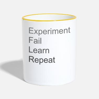 Experiment Fail Learn Repeat - Tofarvet krus