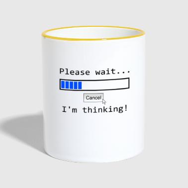 please wait loading bar Loading - Contrasting Mug