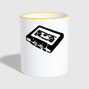 Cassette Old School - Tazze bicolor