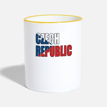 República Checa Republica checa - Taza en dos colores