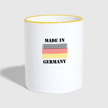 Germany Germany Germany made in germany - Contrasting Mug