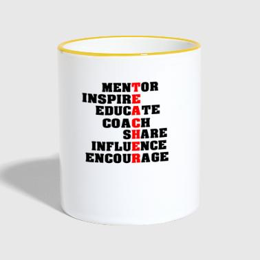 Teacher T-Shirt | Gift for teachers - Contrasting Mug