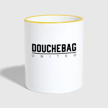 DOUCHEBAG UNITED - Tasse zweifarbig