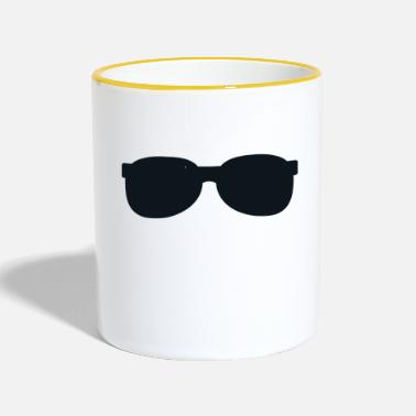 Sunglasses sunglasses - Contrasting Mug