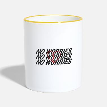 Worry No worries - Contrasting Mug