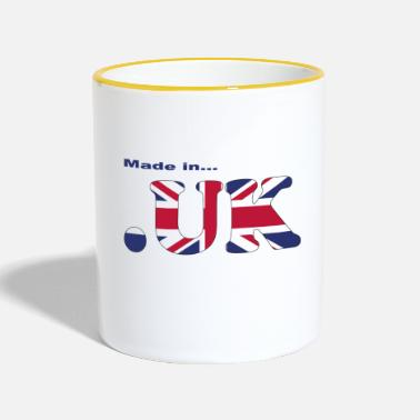 Uk made in uk - Tasse zweifarbig