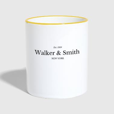 Walker Walker & Smith - Taza en dos colores