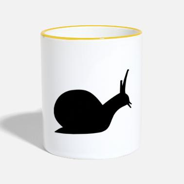 Pourri escargot pourri - Mug contrasté