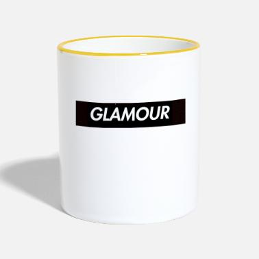 Glamour glamour - Taza en dos colores