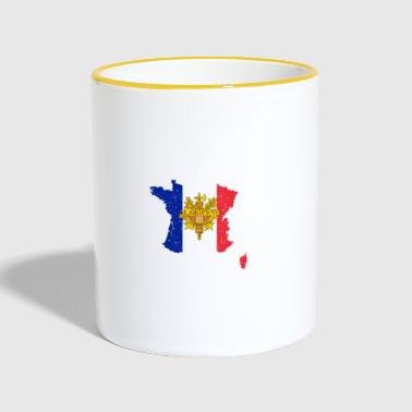 France France Coupe du Monde de Football - Mug contrasté