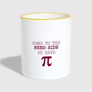 Nerd / Nerds: Come to the Nerd Side - Contrasting Mug
