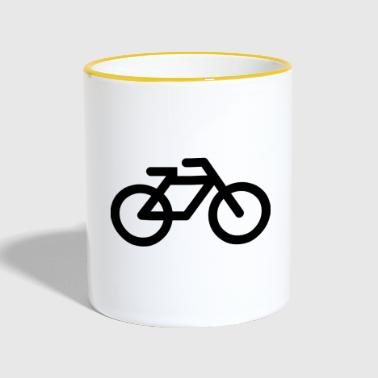 bicycle - Contrasting Mug