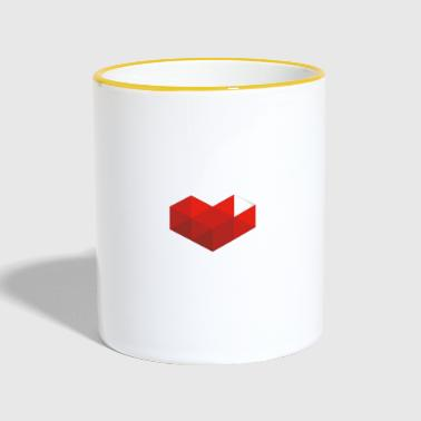Youtube YouTube-Gaming - Tasse zweifarbig