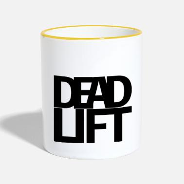 Deadlift Deadlift - Tasse zweifarbig