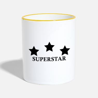Superstar SUPERSTAR - Taza en dos colores
