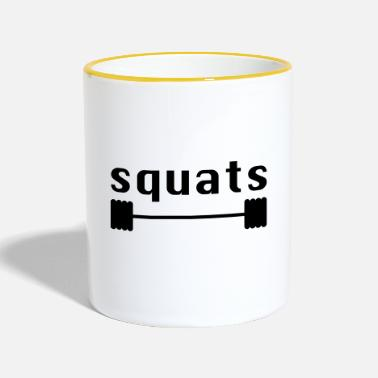 Squat squats - Mok tweekleurig