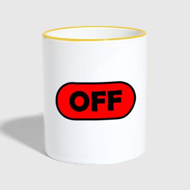 Off off / off - Tazze bicolor