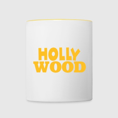 Hollywood - Mug contrasté