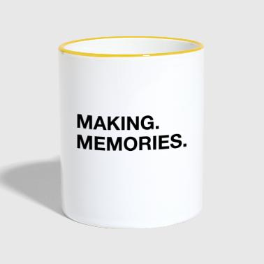 making memories - Contrasting Mug
