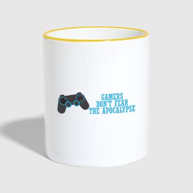 Gamer Game / Gamer / Games: Gamers don't fear the - Contrasting Mug